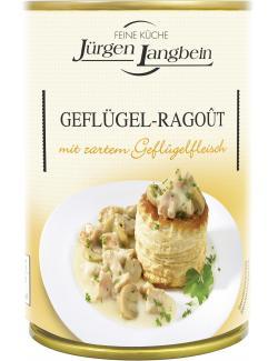 Jürgen Langbein Geflügel-Ragoût  (400 g) - 4007680104659