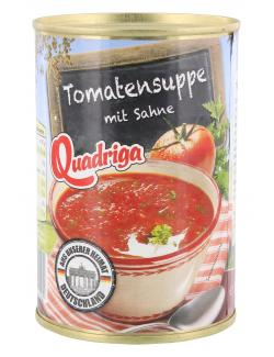 Quadriga Tomaten-Cremesuppe mit Sahne & Petersilie  (425 ml) - 4008002542005