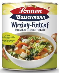 Sonnen Bassermann Mein Wirsingtopf mit geräucherten Fleisch  (800 g) - 4002473944351