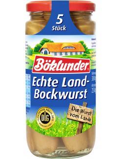 Böklunder Echte Landbockwurst  (5 x 50 g) - 4000404935355