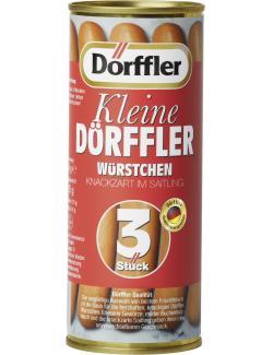 Dörffler Kleine Dörffler Würstchen  (126 g) - 4000582504091