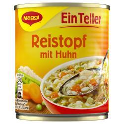 Maggi Ein Teller Reistopf mit Huhn  (325 g) - 4005500394006