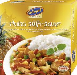 Wingert Foods Huhn Süß-Sauer  (375 g) - 4044983005726