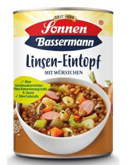 Sonnen Bassermann Mein Linsentopf mit Würstchen  (400 g) - 4002473967459