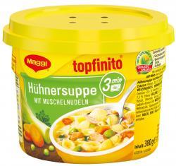 Maggi Topfinito Hühnersuppe mit Muschelnudeln  (380 g) - 40055282