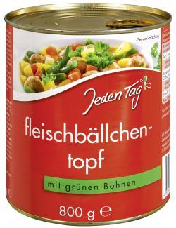 Jeden Tag Fleischklößchentopf mit grünen Bohnen  (800 g) - 4306188057024