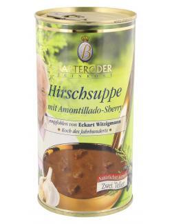 Barteroder Hirschrahmsuppe  (570 ml) - 4008002534000