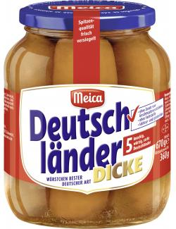 Meica Deutschländer Dicke  (5 x 72 g) - 4000503119403