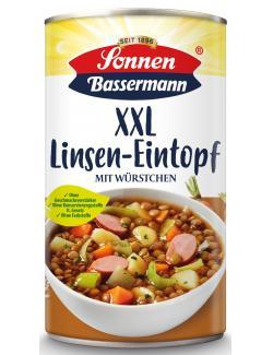 Sonnen Bassermann Unser XXL Linsentopf mit leckerer Bockwurst  (1,24 kg) - 4008585101736