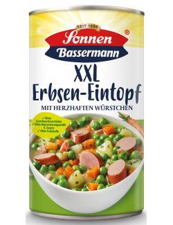 Sonnen Bassermann Unser  XXL Erbsentopf mit zarter Bockwurst  (1,24 kg) - 4008585101743