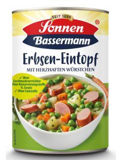 Sonnen Bassermann Mein Erbsentopf mit herzhaften Würstchen  (400 g) - 4002473966452