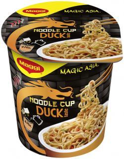 Maggi Magic Asia Noodle Cup Duck  (65 g) - 7613035206410