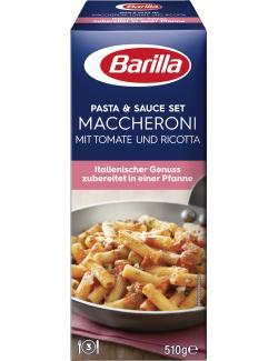 Barilla Kochset für Maccheroni Tomate und Ricotta  (510 g) - 8076809569767