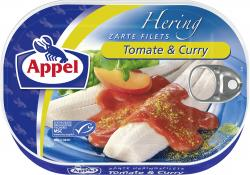 Appel Heringsfilets Tomate & Curry  (200 g) - 4020500966107