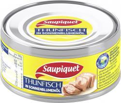 Saupiquet Thunfisch in Sonnenblumenöl  (140 g) - 3165955584016