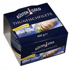 Küstengold Thunfischfilets in Sonnenblumenöl  (280 g) - 4250426208337