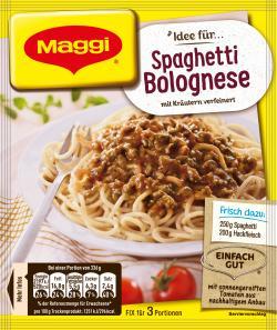 Maggi fix & frisch Spaghetti Bolognese  (38 g) - 7613030712213