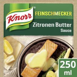 Knorr Feinschmecker Zitronen Butter Sauce  (250 ml) - 4038700128188