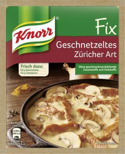 Knorr Fix Geschnetzeltes Züricher Art  (41 g) - 4038700101358