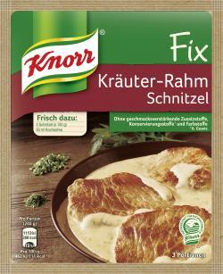 Knorr Fix Kräuter-Rahm Schnitzel  (47 g) - 4000400145390