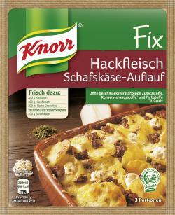 Knorr Fix Hackfleisch Schafskäse-Auflauf  (43 g) - 4000400127877