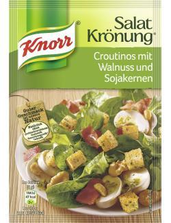 Knorr Salatkrönung Croutinos mit Walnuss und Sojakernen  (25 g) - 4038700119704