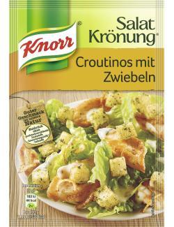 Knorr Salatkrönung Croutinos mit Zwiebeln  (25 g) - 4038700119711