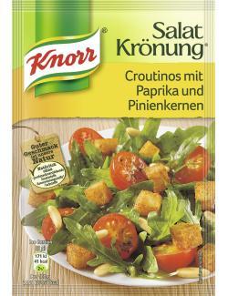 Knorr Salatkrönung Croutinos mit Paprika und Pinienkernen  (25 g) - 4038700119728