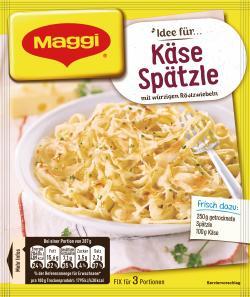 Maggi fix & frisch Käse-Spätzle  (35 g) - 7613030722052