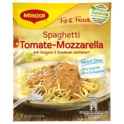 Maggi fix & frisch Spaghetti Tomate-Mozzarella  (40 g) - 7613030711353