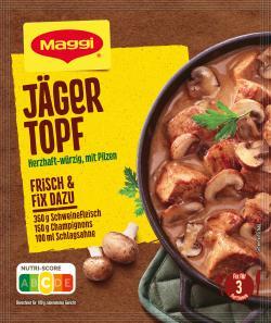 Maggi fix & frisch Jäger-Topf Hubertus  (30 g) - 7613030712602