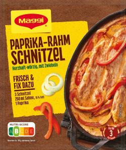 Maggi fix & frisch Paprika-Rahm Schnitzel  (35 g) - 7613030721123