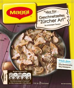 Maggi fix & frisch Geschnetzeltes Züricher Art  (50 g) - 7613030693987