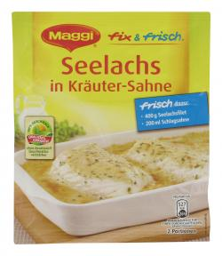 Maggi fix & frisch Seelachs in Kräuter-Sahne  (33 g) - 7613030694113