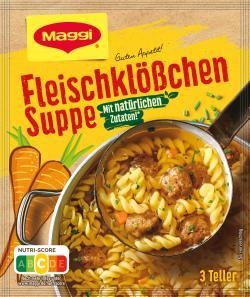 Maggi Guten Appetit Fleischklößchen-Suppe  - 4005500324133