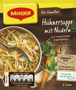Maggi Für Genießer Hühnersuppe mit Nudeln  - 4005500069034