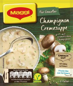 Maggi Für Genießer Champignon-Creme Suppe  - 4005500069003