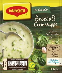 Maggi Für Genießer Broccoli Cremesuppe  - 4005500069027