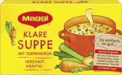 Maggi Klare Suppe mit Suppengrün  (8 x 1 l) - 4005500308102