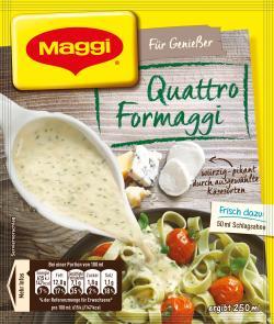 Maggi La Pasta di Maggi Quattro Formaggi Sauce  (42 g) - 4005500079019