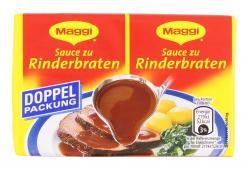 Maggi Delikatess Sauce zu Rinderbraten  (2 x 0,25 l) - 4005500335252