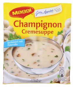 Maggi Guten Appetit Champignon Cremesuppe  - 4005500058939