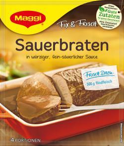Maggi fix & frisch Sauerbraten  (46 g) - 7613030691785