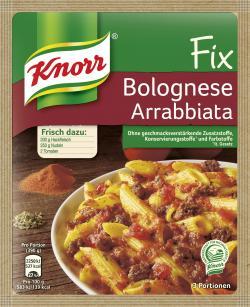 Knorr Fix Bolognese Arrabbiata  (45 g) - 4000400138279