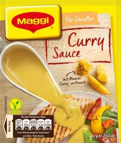 Maggi Für Genießer Curry-Sauce  (34 g) - 7613031540563