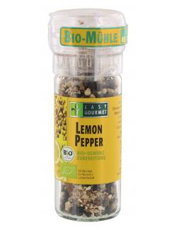 Easy Gourmet Bio Gewürzmühle Lemon Pepper  (45 g) - 4250115713159