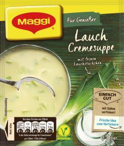 Maggi Für Genießer Lauch Cremesuppe  - 7613033277276