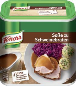 Knorr Soße zu Schweinebraten  (2,25 l) - 8722700644620