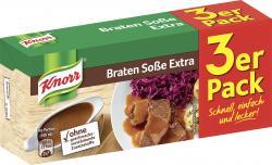 Knorr Braten Soße extra  (3 x 0,25 l) - 4038700117007