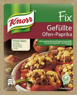Knorr Fix für Gefüllte Ofen-Paprika  (43 g) - 8712566064946
